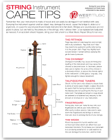 String Instrument Care Guide