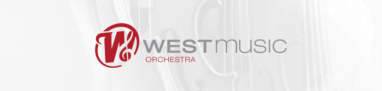 West Music Orchestra Banner